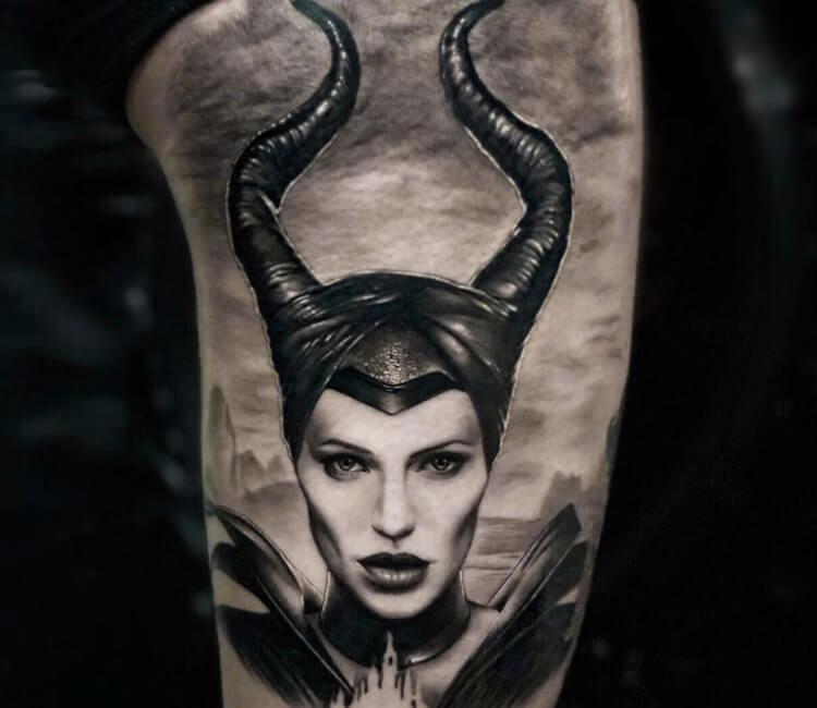 Maleficent Tattoo By Honart Post 27954