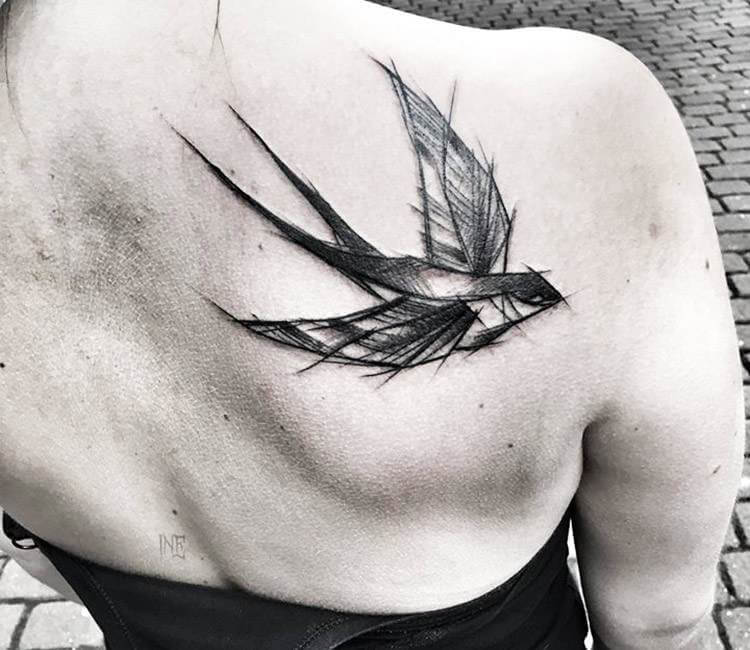 125 cute swallow tattoo designs to try for your next tattoo - 750×650