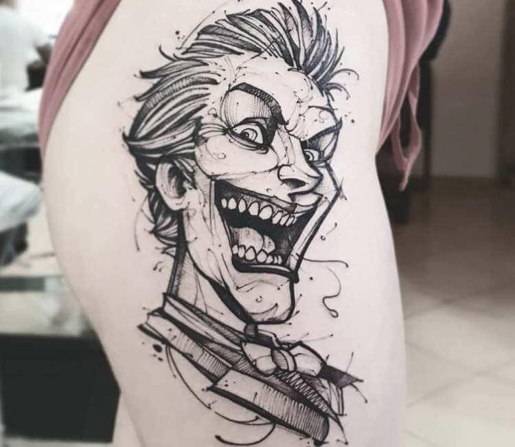 Joker Tattoo By Jakub Kowalski Post 25749