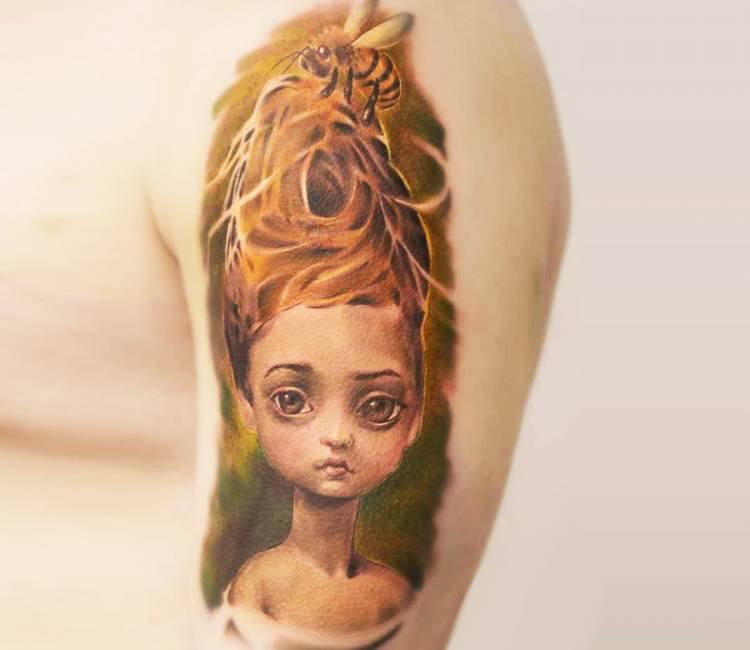 Queen Bee Tattoo By Jirka Tattoo Post 17155