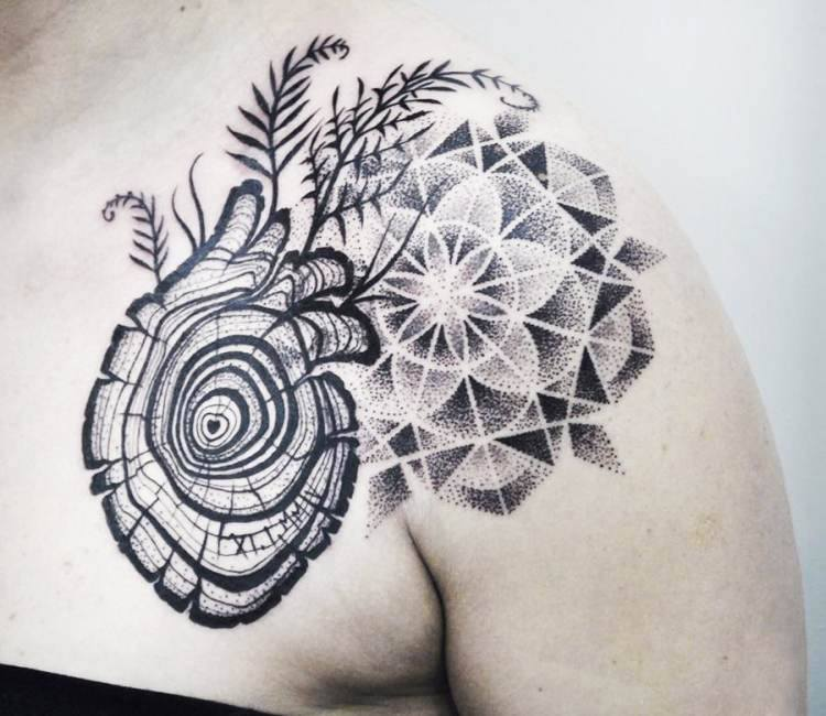 Tree Of Life Tattoo By Kati Berinkey Post 17246