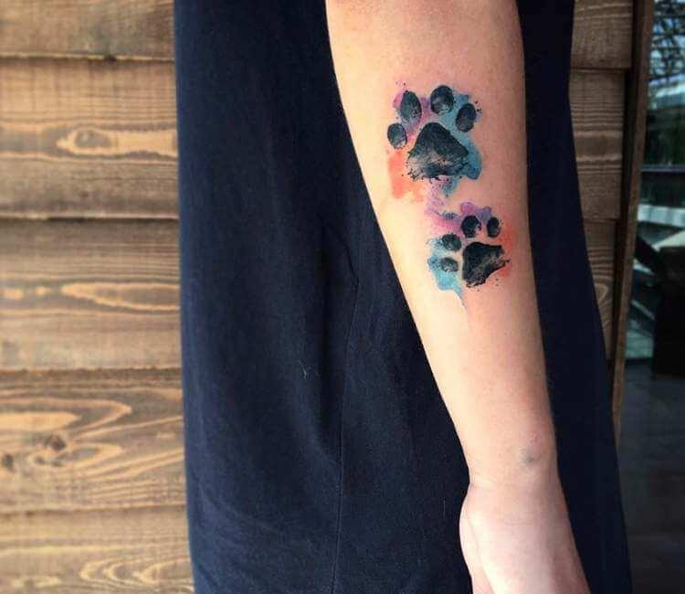 Dog Paw Tattoo By Kenlar Tattoo Post 26165