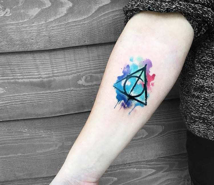 Harry Potter Triangle Symbol Tattoo By Kenlar Tattoo Post 26459