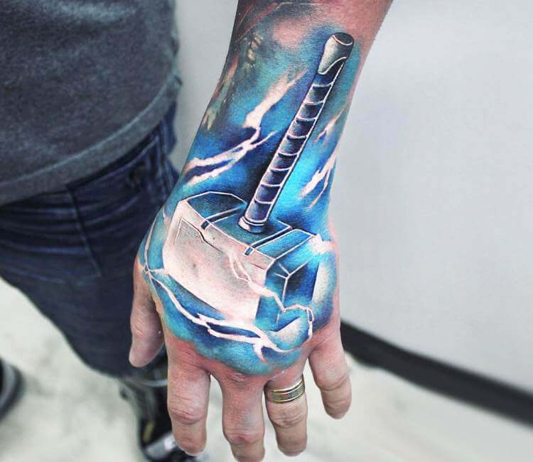 of thor tattoo by khail tattooer post 21278