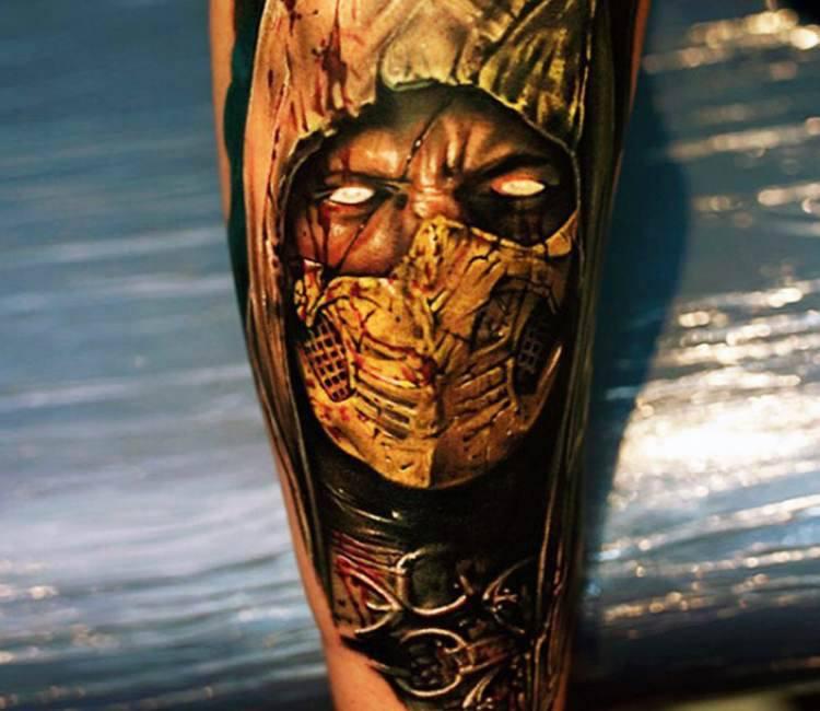 Mortal Kombat Tattoo By Khan Tattoo Post 15205