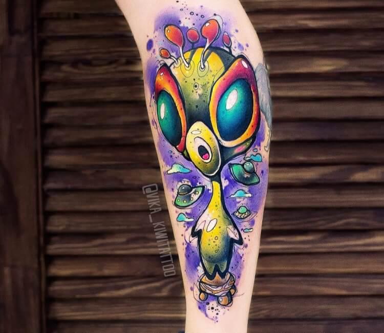 Alien Tattoo By Kiwi Tattoo Post 28711