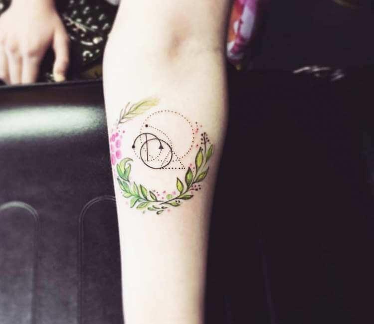 Capricorn And Libra Tattoo By Klaras Tattoo Post 24389