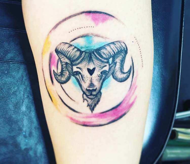 Capricorn Tattoo By Klaras Tattoo Post 23305