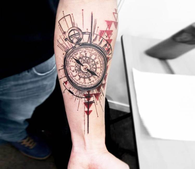 Stopwatch tattoo by koit tattoo post 17772 for Stop watch tattoos