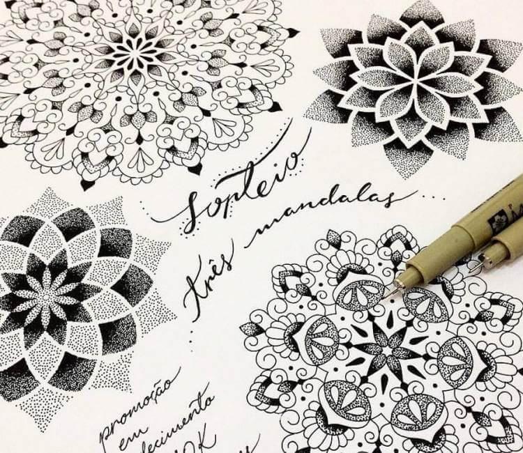 cc6c0406acdb3 Mandala drawing by Kristie Yuka | Post 17946