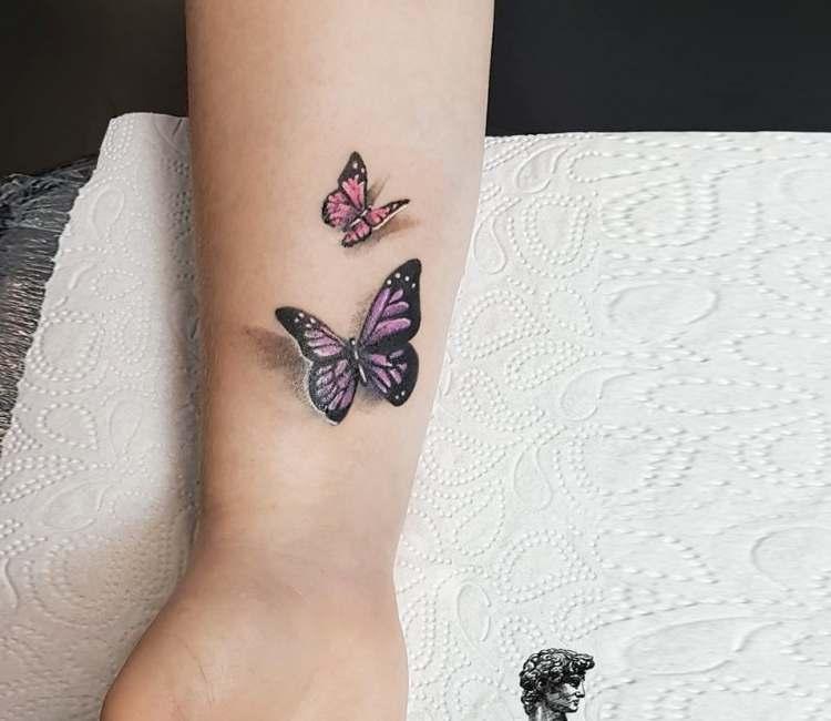 6c4b8a52e Butterfly tattoo by Ksenia Vaykhel | Post 22864