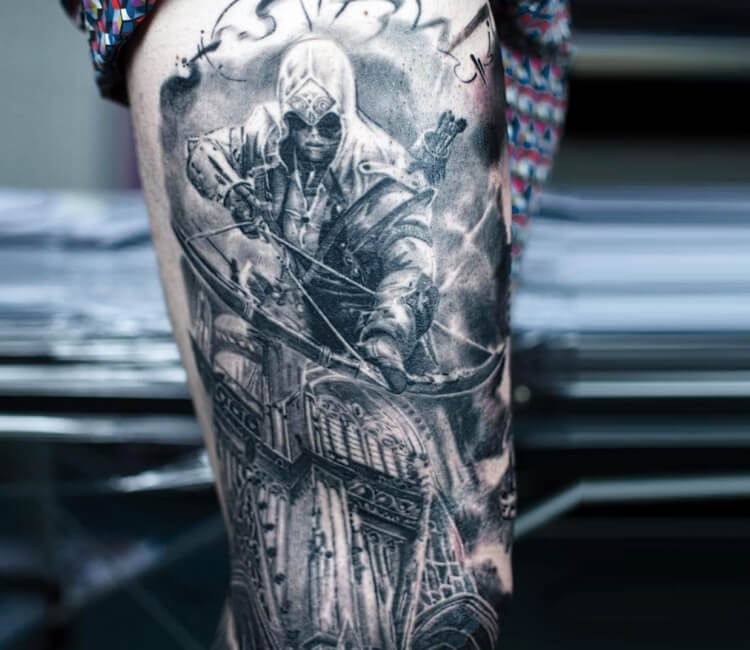 Assassins Creed Tattoo By Laky Tattoo Post 27468
