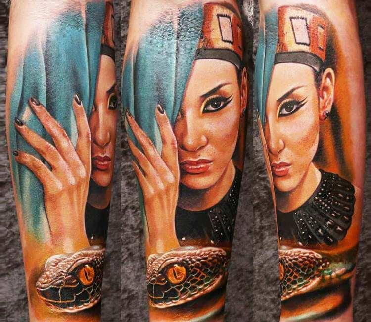 Cleopatra Tattoo By Lena Art Post 24644
