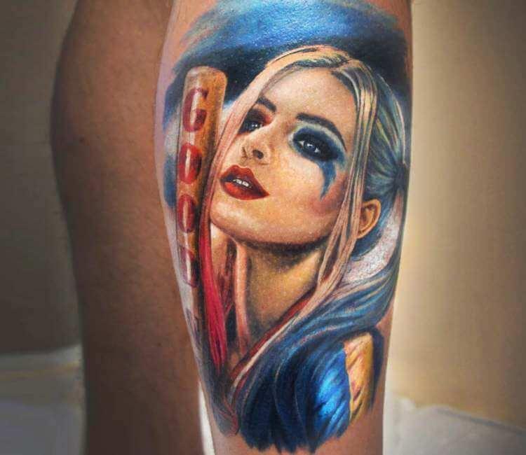 Harley Quinn Tattoo By Malena Tattoo Post 22531