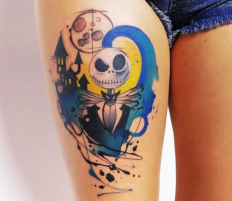 Jack Skellington Tattoo By Marco Pepe Post 20165