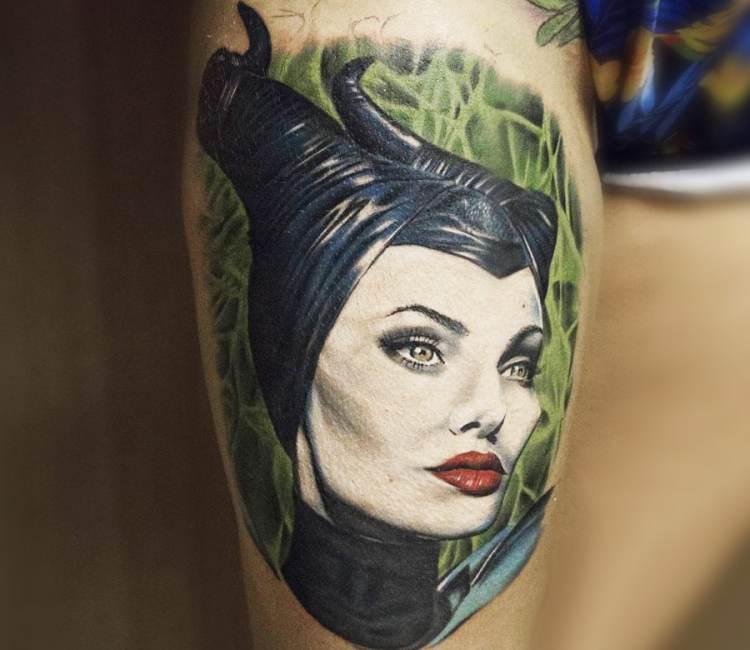 Maleficent Tattoo By Marek Hali Post 19120