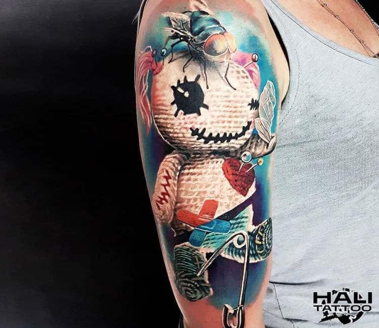 704a8142e0d8c Voodoo Doll tattoo by Marek Hali   Post 23518