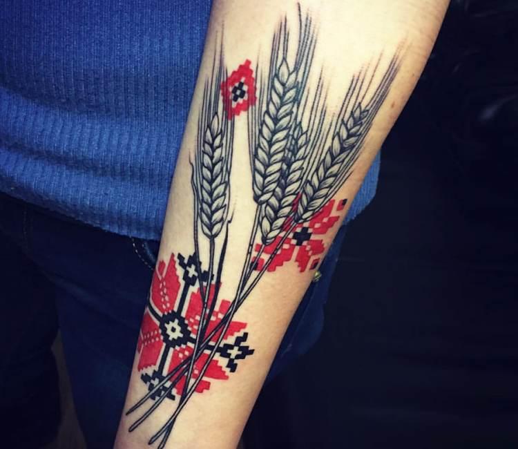 wheat tattoo by marta teterina post 18245