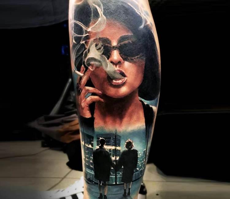 Fight club tattoo by michael taguet post 20521 for Tattoo art club