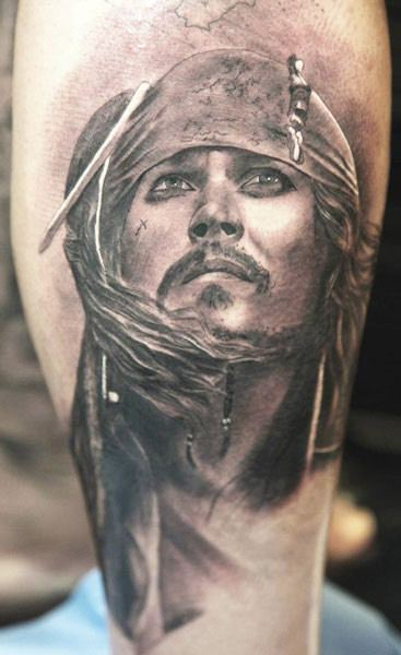 Pirates Caribbean Tattoo By Miguel Bohigues Post 6623