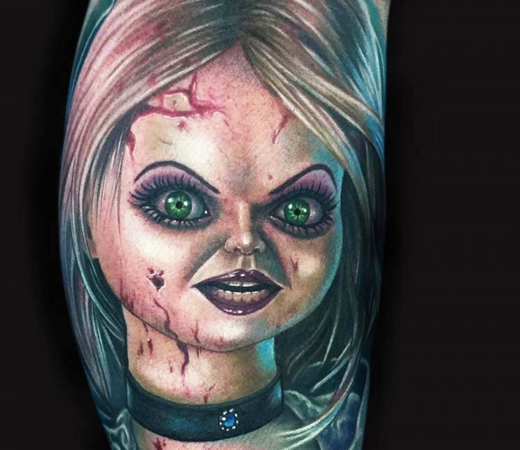 Bride of chucky tattoo by mike devries post 16552 for Bride of chucky tattoo