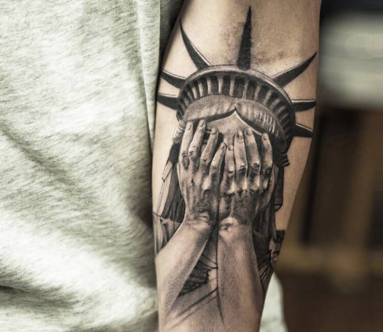 And Justice For All Statue Tattoo Pics Download