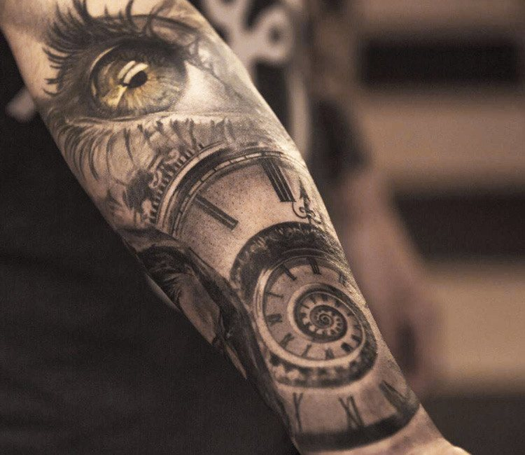 Time tattoo by niki norberg post 13907 for Top 100 tattoo artists world