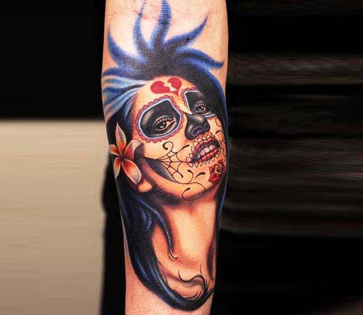 muerte tattoo by nikko hurtado post 8480
