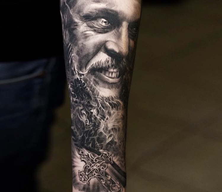 ragnar lodbrok tattoo by nikolay dzhangirov post 23279