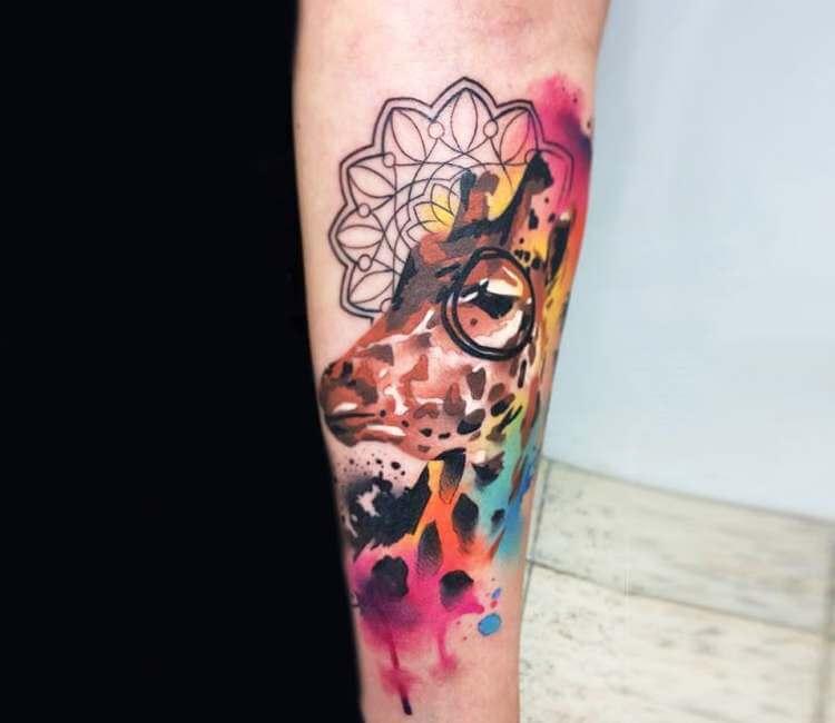 cf0433753 Giraffe tags tattoo ideas   World Tattoo Gallery