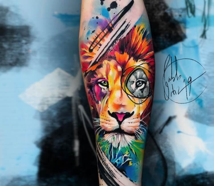 62277f85e Lion Tattoo | World Tattoo Gallery | Page 2