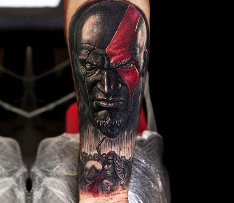 God Of War Tattoo By Pasha Tarino Post 24521