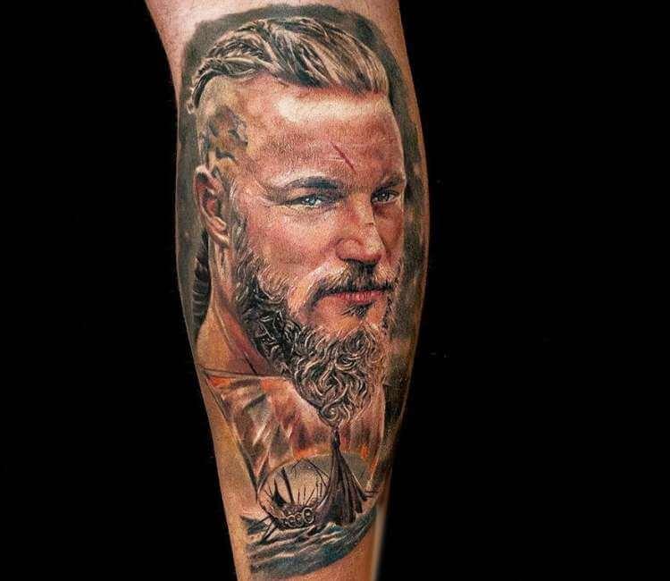 ragnar lodbrok tattoo by pasha tarino post 24895