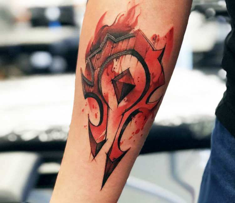 For The Horde Tattoo By Roman Kor Post 24573