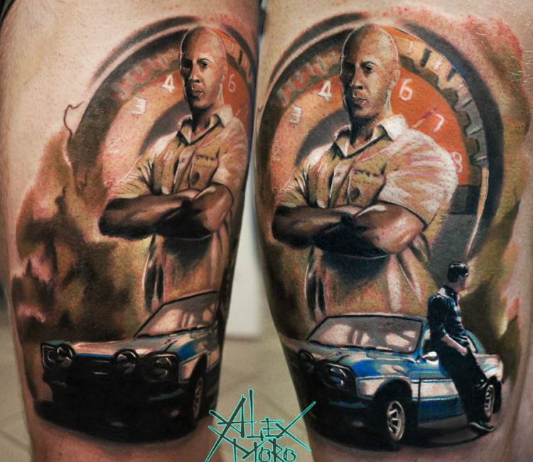 Fast And Furious Tattoo Quotes Quotesgram: The Fast And The Furious Tattoo By Sanek Tattoo