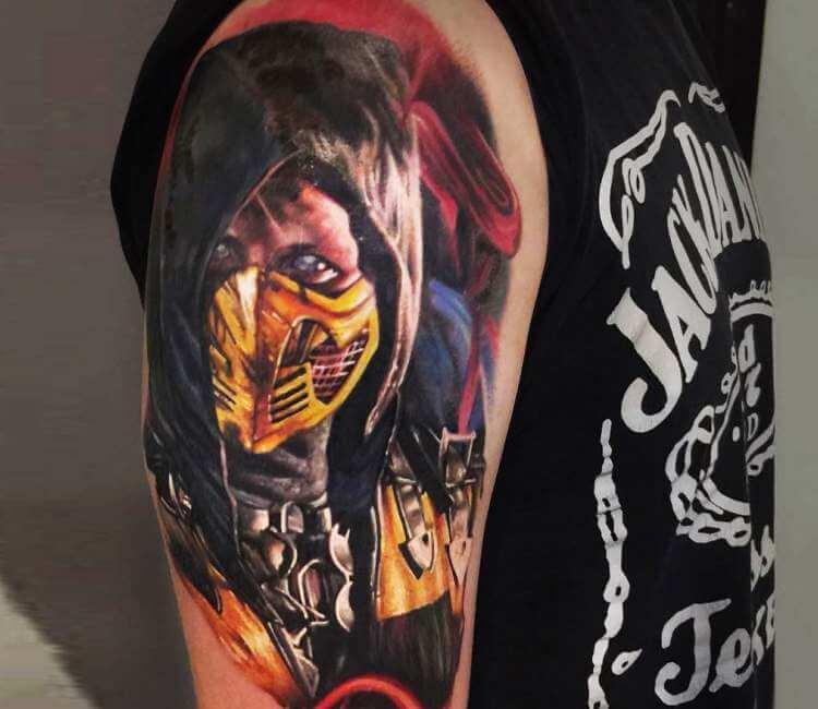Scorpion Tattoo By Sergey Shanko Post 24827