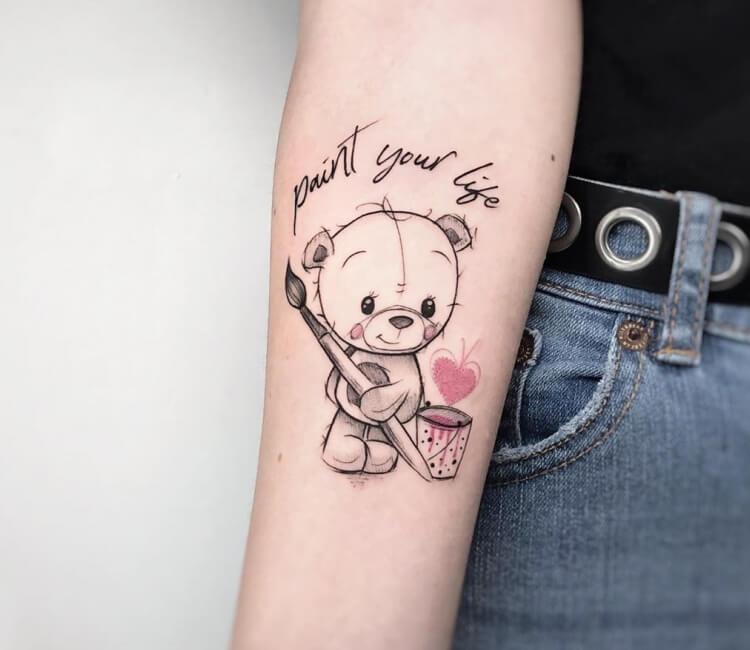 Teddy Bear Tattoo By Simona Merlo Post 29887