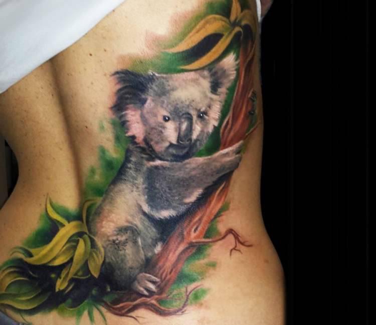 koala bear tattoo by steffi eff post 14767 rh worldtattoogallery com koala bear tattoo tumblr koala bear tattoo tumblr