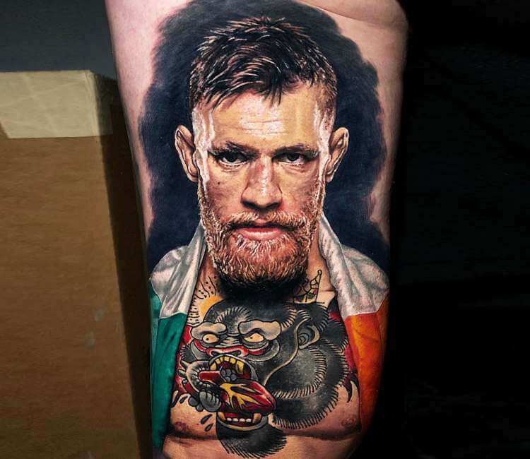 0cde00149fbf0 Conor McGregor tattoo by Steve Butcher | Post 23575