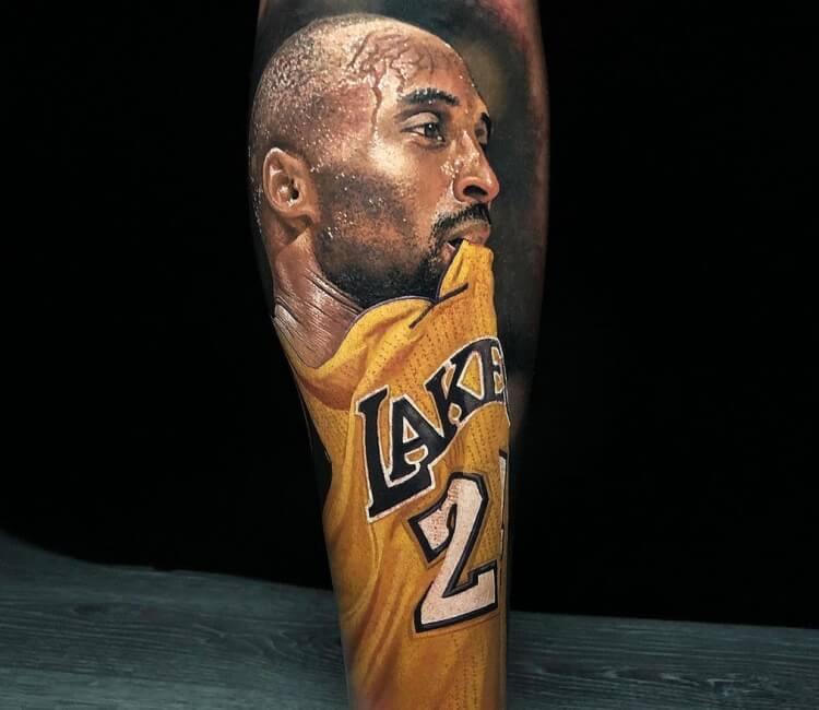 Kobe Bryant Tattoo By Steve Butcher Post 27883