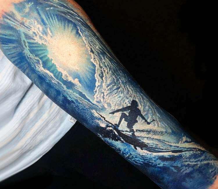 Tattoo surf 17 Small