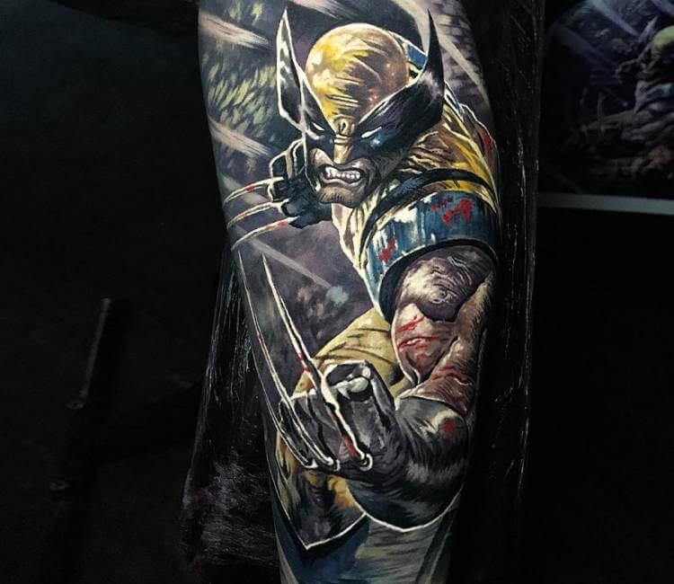 Vintage Venom Tattoo Thoughts: Wolverine Tattoo By Steve Butcher