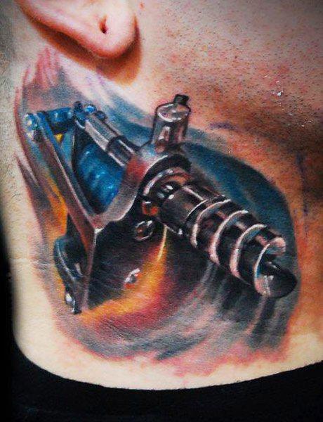 Tattoo Machine By Tomasz Tofi Torfinski
