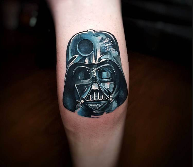 Little Vader tattoo by Tyler Malek | Post 18903