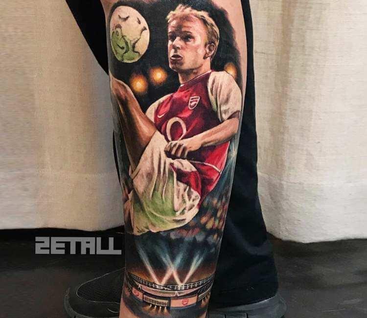 Dennis Bergkamp Tattoo By Victor Zetall Post 26720