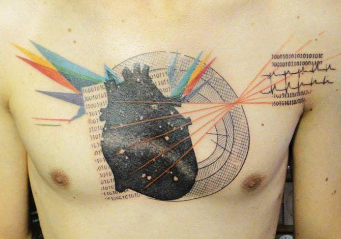 Heart tattoo by Xoil Tattoo   Post 10486  Heart tattoo by...