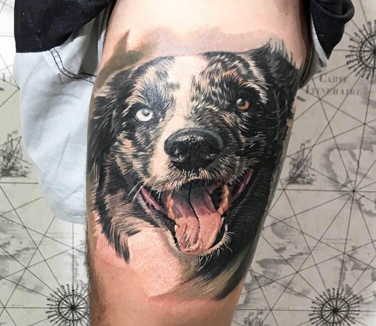 Dog Tattoo By Yeyo Tattoos Post 28754