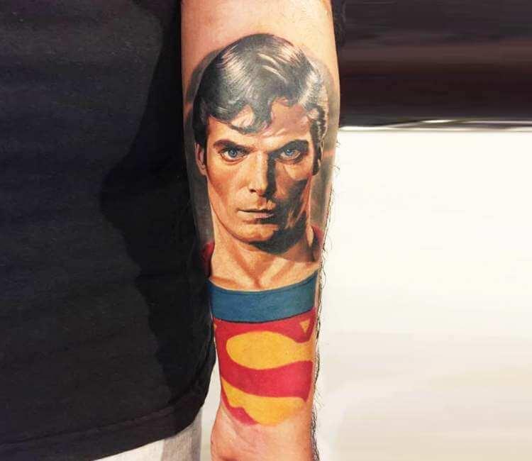 Superman tattoo by Yeyo Tattoos | Post 22533